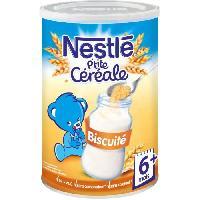Franprix - Cereales - Bledine NESTLÉ P'tite Céréale Biscuité - 400 g - Des 6 mois - Nestle