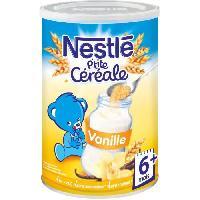 Franprix - Cereales - Bledine NESTLÉ P'tite Céréale Vanille - 400 g - Des 6 mois - Nestle