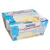 Franprix - Desserts Aux Fruits Creme de Riz au lait P'tit Gourmand - 4 x 100g