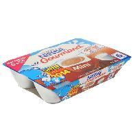 Franprix - Desserts Aux Fruits P'tit Gourmand Mini Chocolat au Lait 6x60g
