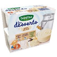 Franprix - Desserts Lactes Les desserts Creme de Riz - 4 x 100g