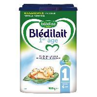 Franprix - Lait 1er Age BLEDINA Blédilait Lait en poudre - 1er âge jusqu'a 6 mois - 900 g - Bledilait