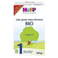 Franprix - Lait 1er Age HIPP BIOLOGIQUE Lait pour nourrissons en poudre 1er âge - 600 g - De 0 a 6 mois