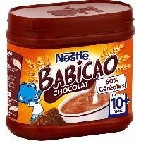 Franprix - Lait Aromatise Babicao - Cereales Deshydratees 400g - 10 mois et +