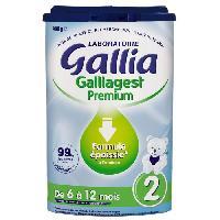 Franprix - Lait Et Cereales GALLIA Galliagest Premium Lait en poudre 2eme Age - 900 g - De 6 a 12 mois