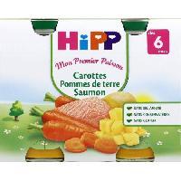Franprix - Repas De Bebe Carot.pdt saum.2x190g hippbio