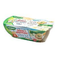 Franprix - Repas De Bebe Les idees de maman Courgettes Petites pates Merlu blanc - 2 x 200g