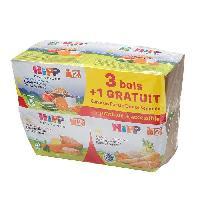 Franprix - Repas De Bebe Lot de 4 menus 12 mois bols - 4 x 220g