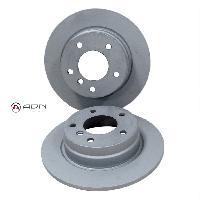 Freinage Disques de frein pour Audi A4 1.8-1.9-2.4-2.6-2.8-A6 1.9 - 2.5-2.6- Td 2.5 - avant - Groupe N - OMP