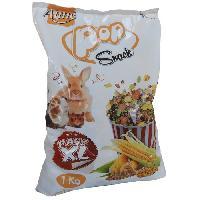 Friandise AIME Friandise mélange de pop corn et corn flakes - Pour lapins et rongeurs  - 1 kg (x1)