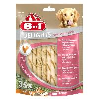 Friandise Delights Twisted Sticks Pork 35pcs Os a macher pour chien