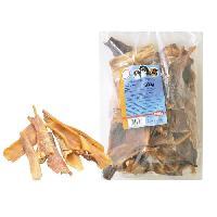Friandise NOBBY Friandise Peau de tete de boeuf pour chien 1kg