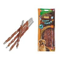Friandise NOBBY Snack canard stick enrobe pour chien L 25cm-O7-8mm