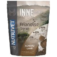Friandise NUTRIVET Snack a l'agneau Inne - Pour chien - 250 g