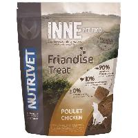 Friandise NUTRIVET Snack au poulet Inne - Pour chien - 250 g