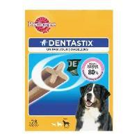 Friandise PEDIGREE Dentastix Batonnets - Pour grands chiens - 28 sticks