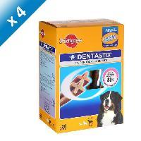 Friandise PEDIGREE Dentastix Batonnets - Pour grands chiens - 28 sticks -x4-