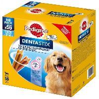 Friandise PEDIGREE Dentastix Batonnets hygiene bucco-dentaire - Pour grand chien - 8x270 g