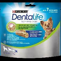 Friandise PURINA DENTALIFE Extra Mini Batonnets a macher - Hygiene bucco-dentaire - Pour chien de tres petite taille - 69 g