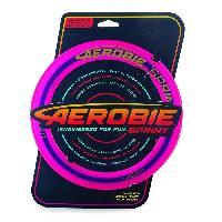 Frisbee - Boomerang AEROBIE Sprint Ring - Anneau de lancer Frisbee 25 cm - Couleur aleatoire