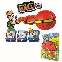 Frisbee - Boomerang GOLIATH Phlat Ball Classic Rouge