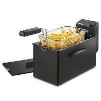 Friteuse Electrique Friteuse semi professionnelle - Capacite- 3L - 2000W - Noir