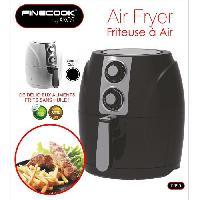 Friteuse FINECOOK FR90N Friteuse a air pulse - 2L - Noir