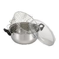 Friteuse friteuse inox complete 26cm - argent