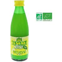 Fruits Au Sirop LIMMI Jus de Citron Sicile Bio - 250 ml