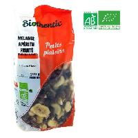 Fruits Secs BIOTHENTIC Melange aperitif fruite - BIO - 300 g - Fabrique en France - Marque Nationale