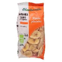 Fruits Secs BIOTHENTIC chips de bananes - 200g - Generique