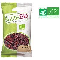 Fruits Secs LA MAISON DES BISTROS NATURE Cranberries bio - 100 g