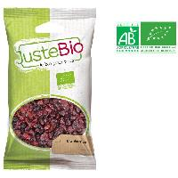 Fruits Secs LA MAISON DES BISTROS NATURE Cranberries bio - 100 g - Generique