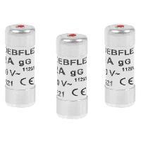Fusible DEBFLEX Lot de 3 Fusibles 10.3x25.8 16 A