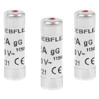 Fusible DEBFLEX Lot de 3 Fusibles 10.3x31.5 20 A
