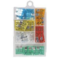 Fusibles Assortiment de fusibles enfichables - Boite de 48 pieces