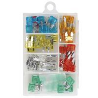 Fusibles Assortiment de mini fusibles enfichables - Boite de 50 pieces