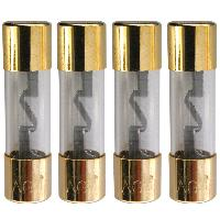 Fusibles pour auto AGU 4 Fusibles AGU dore - 38mm - 20A Conducteur argent Generique