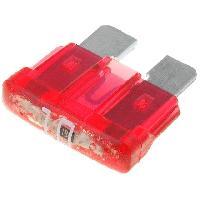 Fusibles pour auto ATO 10x Fusibles 10A 12VDC 19mm avec LED ADNAuto