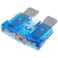 Fusibles pour auto ATO 10x Fusibles 15A 12VDC 19mm avec LED