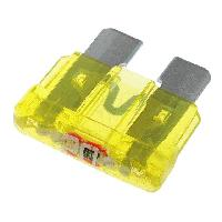 Fusibles pour auto ATO 10x Fusibles 20A 12VDC 19mm avec LED ADNAuto