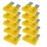 Fusibles pour auto ATO 10x Fusibles 20A 19mm ATO