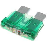 Fusibles pour auto ATO 10x Fusibles 30A 12VDC 19mm avec LED ADNAuto