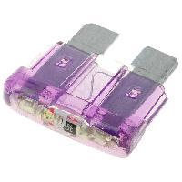 Fusibles pour auto ATO 10x Fusibles 3A 12VDC 19mm avec LED