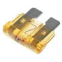 Fusibles pour auto ATO 10x Fusibles 5A 12VDC 19mm avec LED ADNAuto
