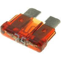 Fusibles pour auto ATO 10x Fusibles 7.5A 12VDC 19mm avec LED ADNAuto