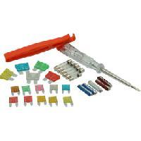 Fusibles pour auto ATO Maxi Coffret 28 fusibles + pince et tournevis [621662]