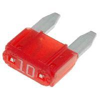 Fusibles pour auto ATO Mini 10x Mini Fusibles 10A 10.9mm MINI ADNAuto