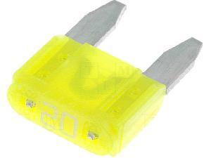 Fusibles pour auto ATO Mini 10x Mini Fusibles 20A 10.9mm MINI ADNAuto