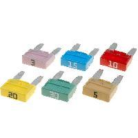 Fusibles pour auto ATO Mini Kit 6 fusibles Mini 3A 5A 10A 15A 20A 30A
